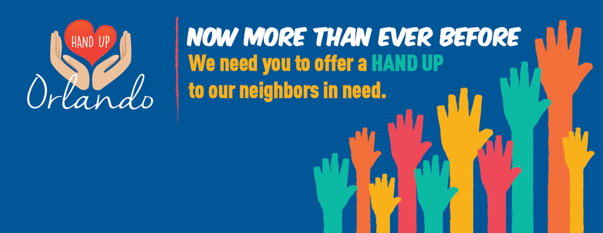 United Against Poverty's Hand Up Orlando Campaign